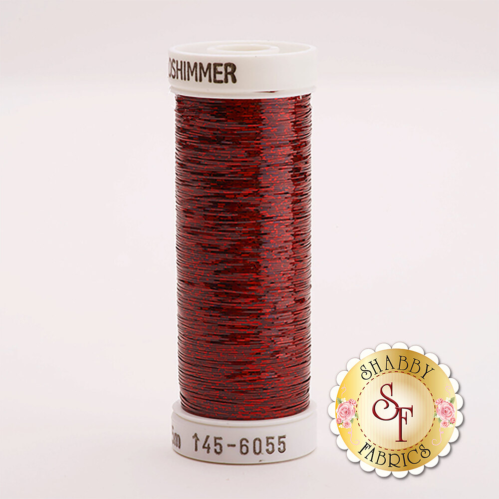 Sulky Holoshimmer Metallic #6055 Cranberry 250 yd Thread