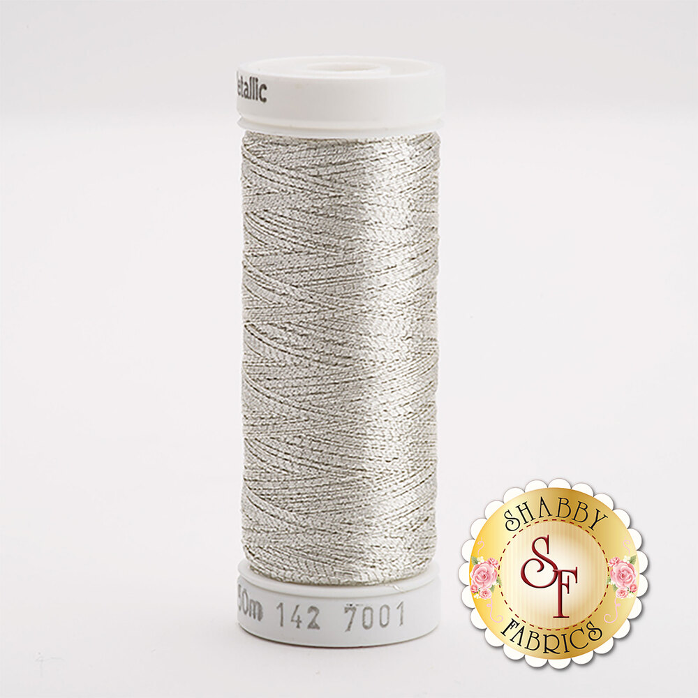 Sulky Original Metallic #7001 Silver 165 yd Thread