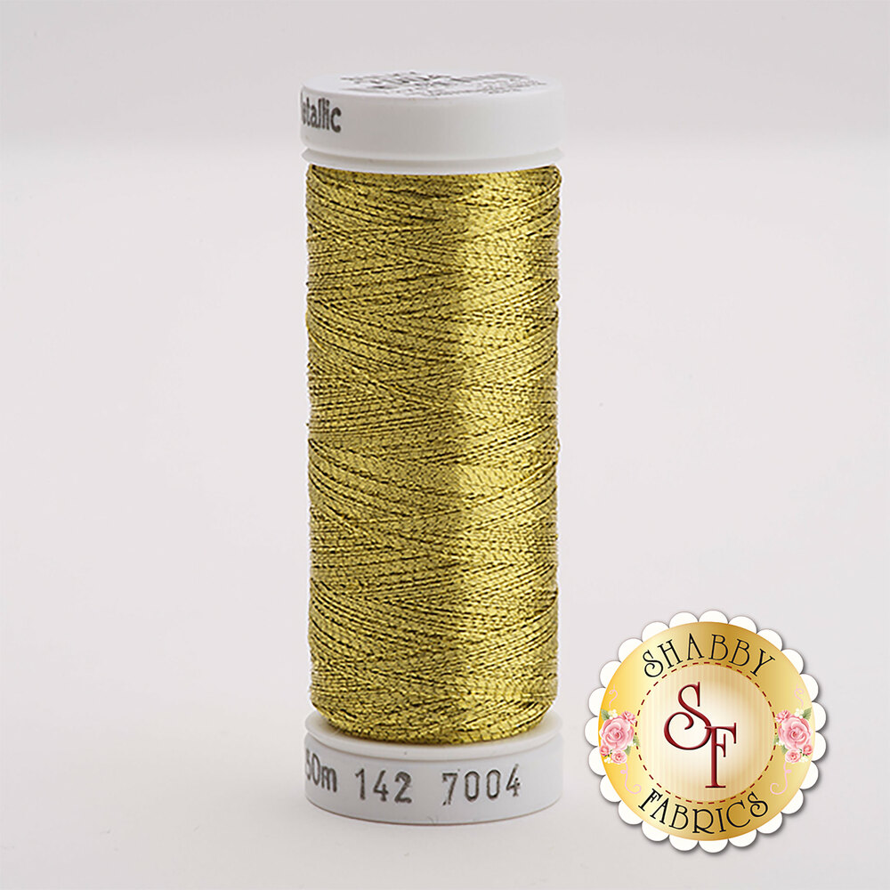 Sulky Original Metallic #7004 Dk. Gold 165 yd Thread