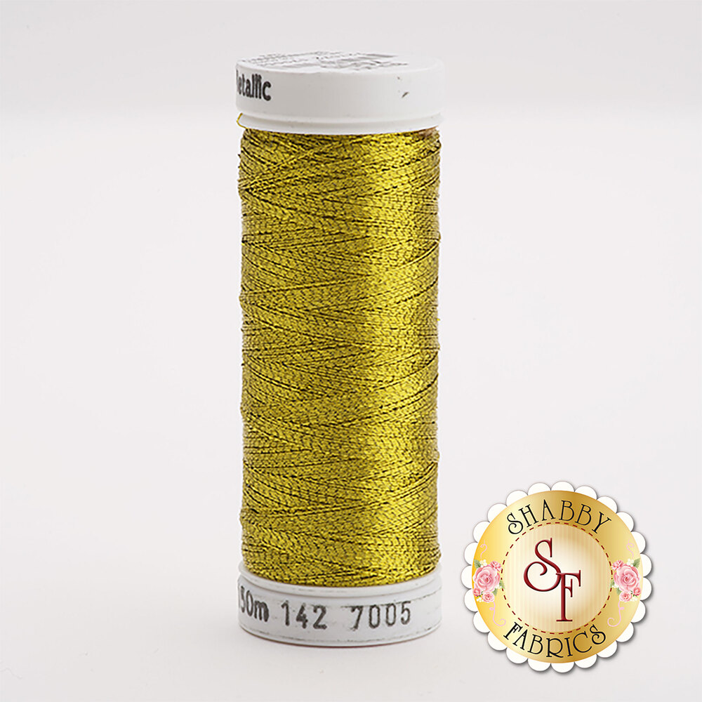 Sulky Original Metallic #7005 Brass 165 yd Thread