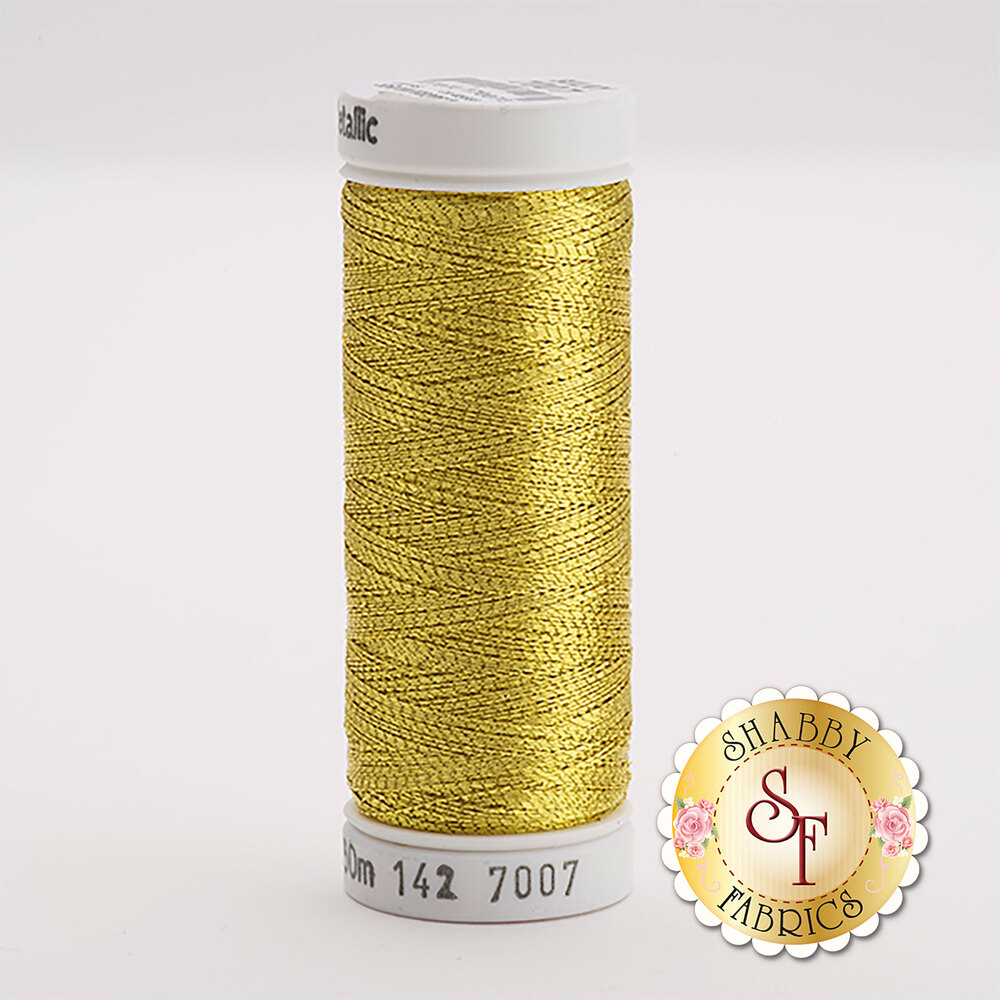 Sulky Original Metallic #7007 Gold 165 yd Thread