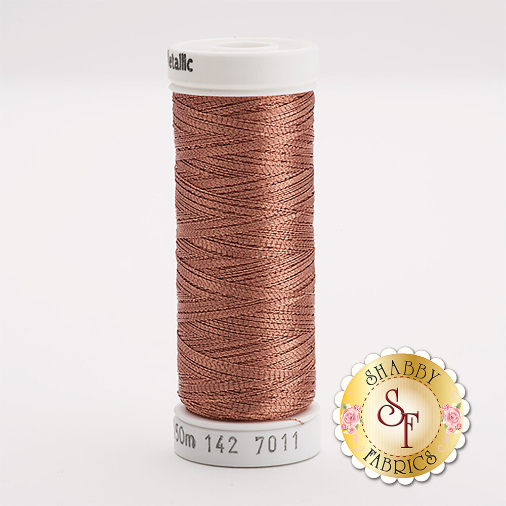 Sulky Original Metallic #7011 Lt. Copper 165 yd Thread
