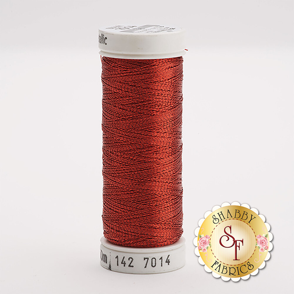 Sulky Original Metallic #7014 Christmas Red 165 yd Thread