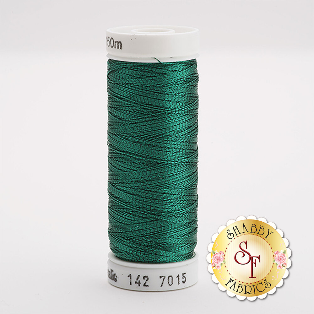 Sulky Original Metallic #7015 Jade Green 165 yd Thread