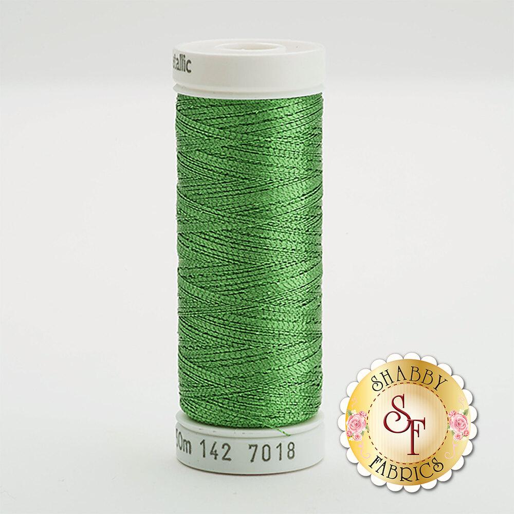 Sulky Original Metallic #7018 Christmas Green 165 yd Thread