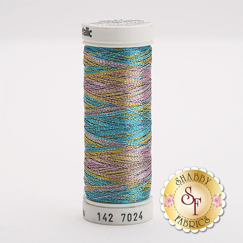 Sulky Original Metallic #7024 Lt. Blue/Gold/Lavender 165 yd Thread