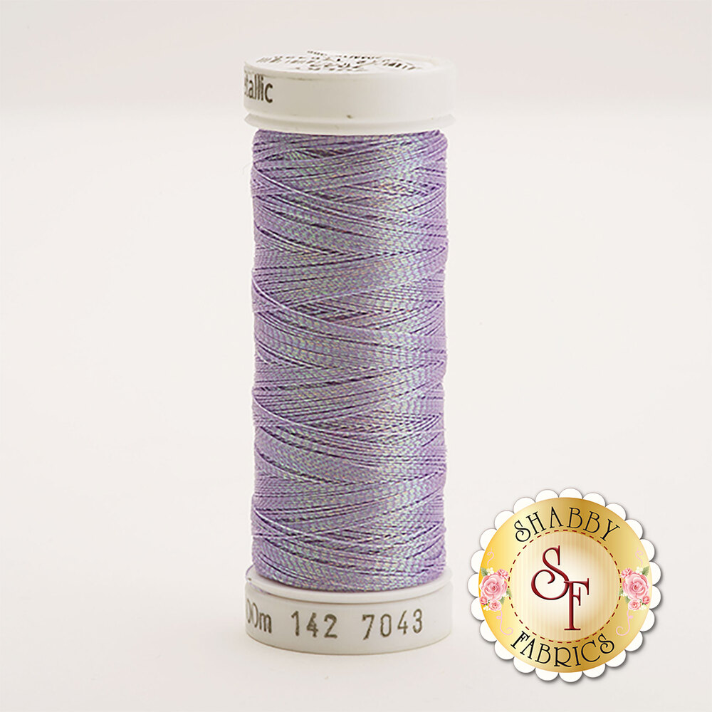 Sulky Original Metallic #7043 Rainbow Prism Purple 110 yd Thread