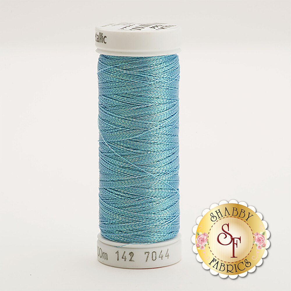 Sulky Original Metallic #7044 Rainbow Prism Blue 110 yd Thread