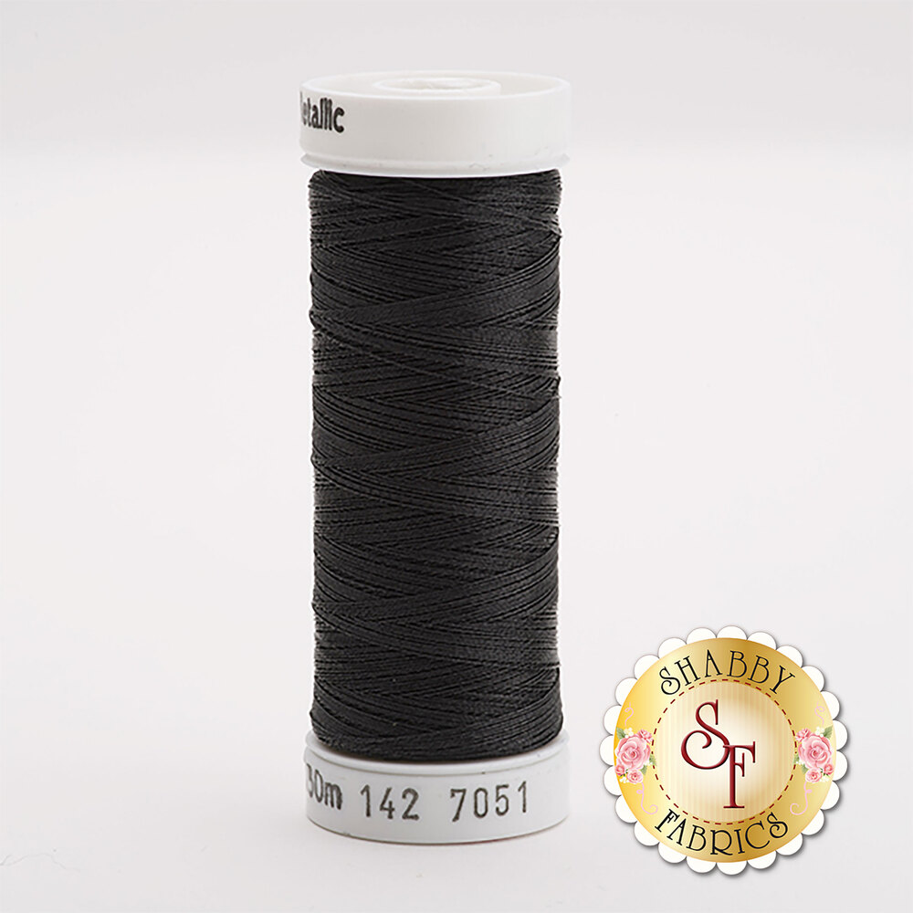 Sulky Original Metallic Black #7051 165 yd Thread
