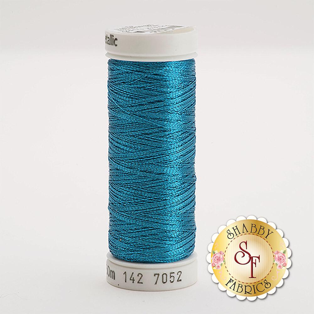 Sulky Original Metallic #7052 Peacock Blue 165 yd Thread
