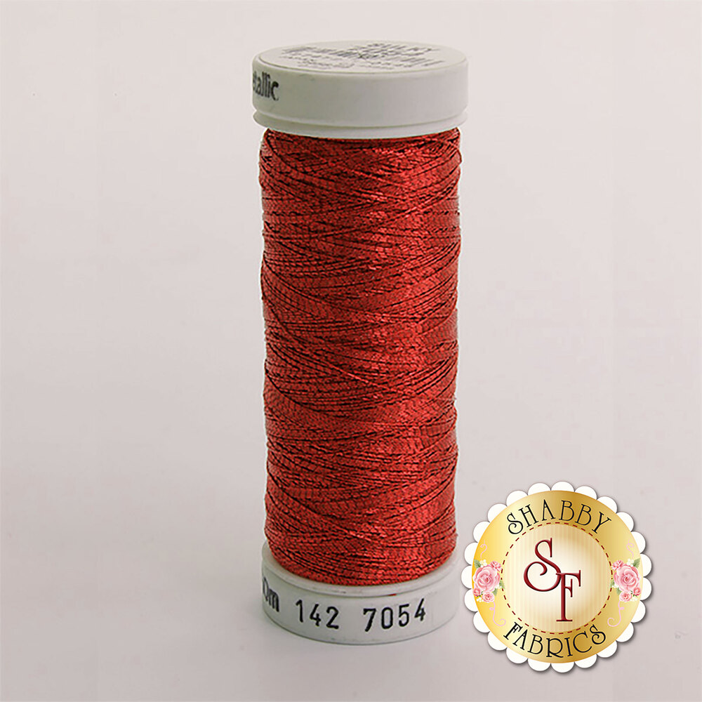 Sulky Original Metallic #7054 Red 165 yd Thread