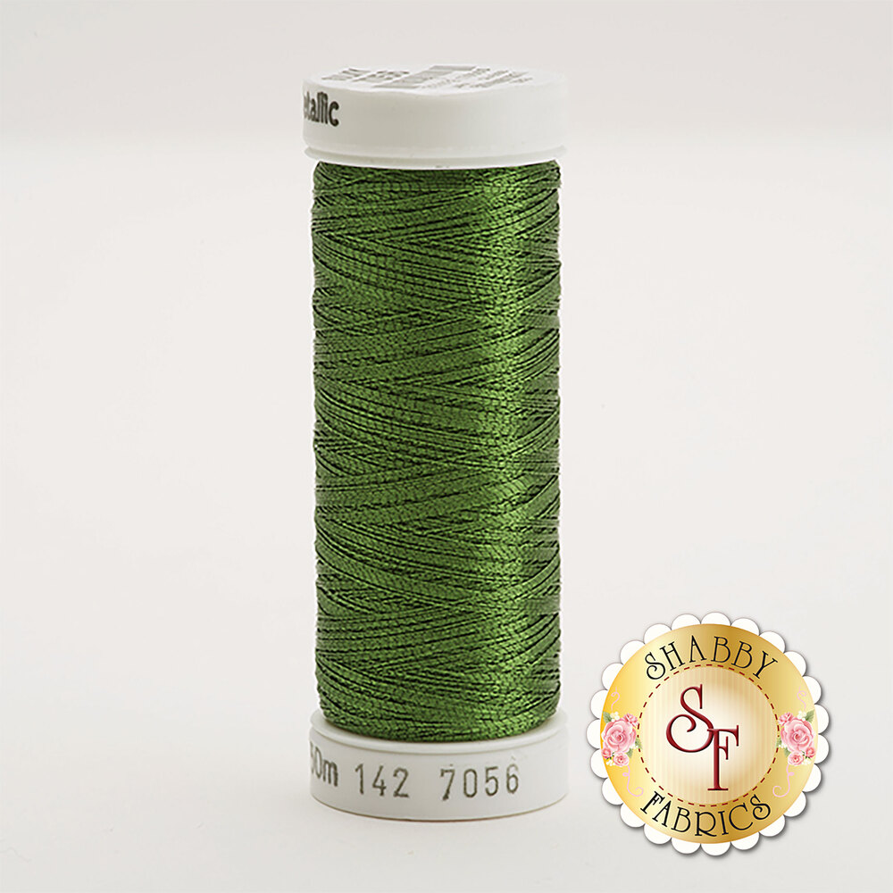 Sulky Original Metallic #7056 Pine Green 165 yd Thread