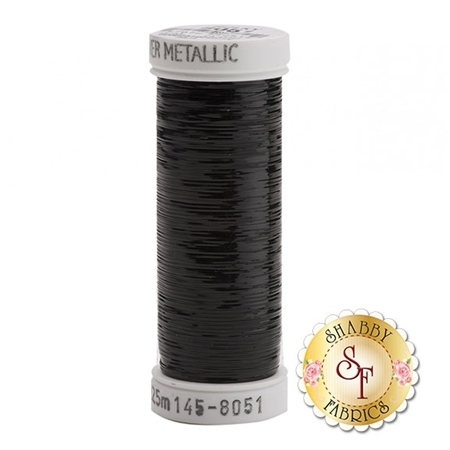 Sulky Sliver Metallic #8051 Black 40wt 250 yd Thread