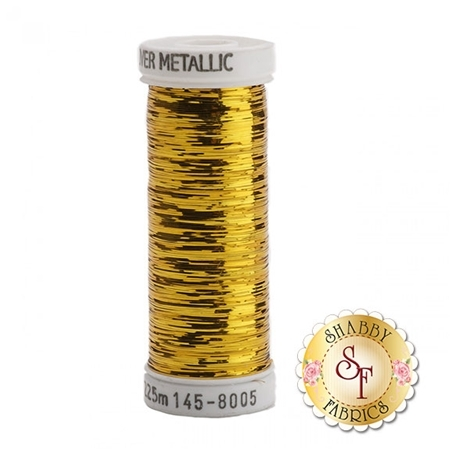 Sulky Of America Sliver Metallic Brass Gold #8005 40wt 250 yd Thread