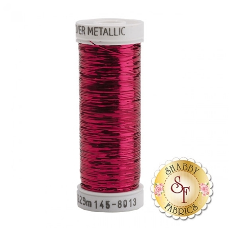 Sulky Sliver Metallic #8013 Fuchsia 40wt 250 yd Thread