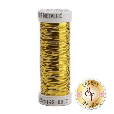 Sulky Of America Sliver Metallic Gold #8007 40wt 250 yd Thread