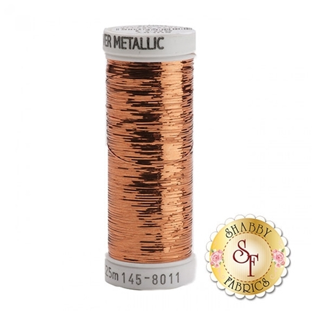 Sulky Of America Sliver Metallic Light Copper #8011 40wt 250 yd Thread
