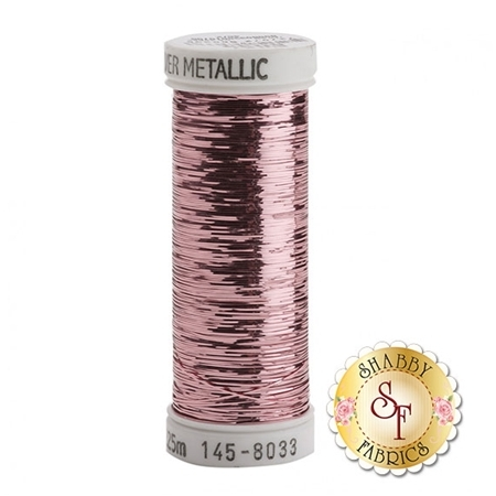 Sulky Of America Sliver Metallic Light Pink #8033 40wt 250 yd Thread