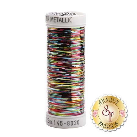 Sulky Sliver Metallic #8020 Multicolor Vibrant 40wt 250 yd Thread