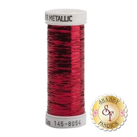 Sulky Of America Sliver Metallic Red #8054 40wt 250 yd Thread