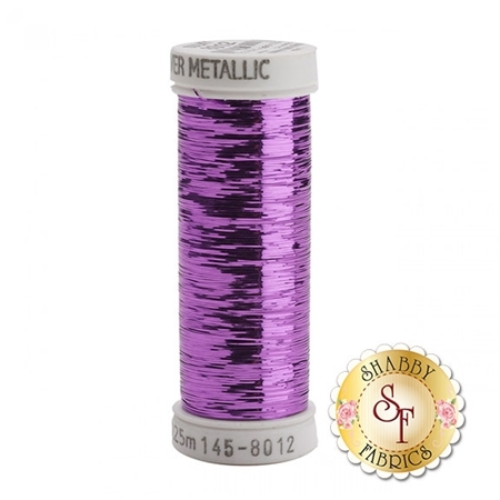 Sulky Of America Sliver Metallic Rose #8012 40wt 250 yd Thread