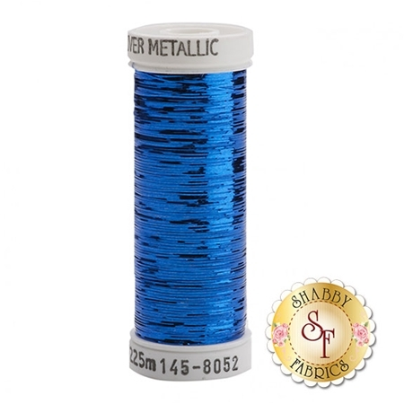 Sulky Of America Sliver Metallic Royal Blue #8052 40wt 250 yd Thread