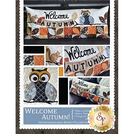 Welcome Autumn - Kimberbell Bench Pillow Pattern