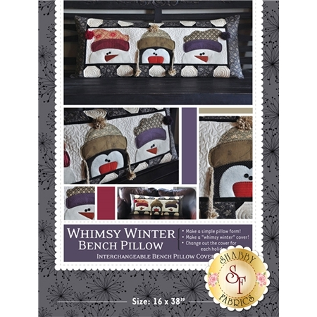 Whimsy Winter - Kimberbell Bench Pillow Pattern