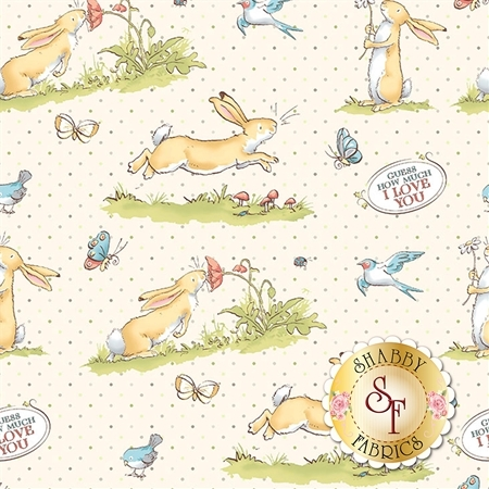 Guess How Much I Love You Flannel Y2321-2 by Clothworks Fabrics
