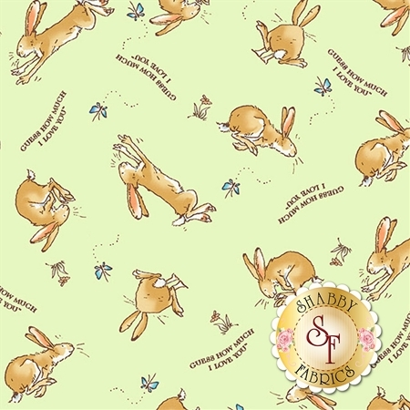 Guess How Much I Love You Flannel Y2322-23 by Clothworks Fabrics