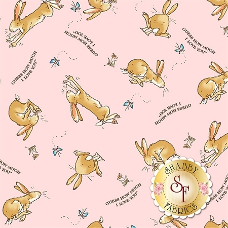 Guess How Much I Love You Flannel Y2322-41 by Clothworks Fabrics
