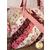 Alexandra Tote Kit - Burgundy & Blush Close Up Details