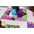 Jars of flowers set on the Radiance Easy Diamond Table Runner | Shabby Fabrics