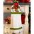 Hanging Towel Kit - Poinsettia & Pine - White