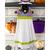 "Hanging Towel Kit - A Haunting We Will ""Glow"" - Purple   Shabby Fabrics"