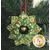 The finished Holiday Tree Wreath Ornament   Shabby Fabrics