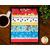 Seven of 7 Doodle Dogs Inspirational Mug Mats | Shabby Fabrics