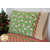 The Magic Pillowcase - Swell Christmas in green displayed on a bed