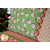 Fabric details of the Magic Pillowcase - Swell Christmas in green | Shabby Fabrics