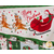 Santa Claus and his Reindeer on the Merry & Bright Advent Calendar