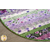Details of the Amethyst Magic slice rug | Shabby Fabrics