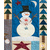 Snowman details and winter trees on the Winter Solstice quilt | Shabby Fabrics