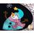 Close up details of snowman on mug mat | Shabby Fabrics