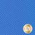 Tonal blue dots | Shabby Fabrics