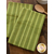 Striped green tonal towels