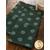 Teal polka dot towels displayed on table | Shabby Fabrics