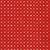 Small white diamonds all over red   Shabby Fabrics